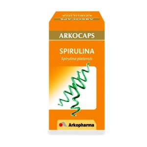 spirulina arko capsulas