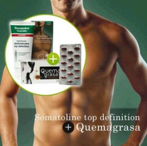 Quemagrasa abdominal y somatoline