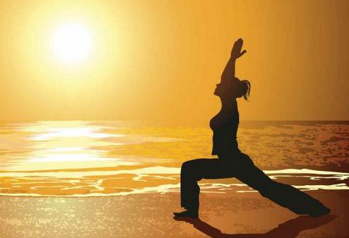 posicion creciente yoga