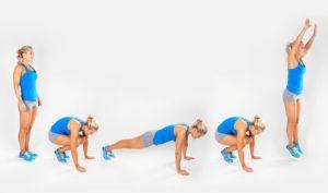 ejercicio burpee