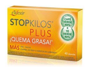 Pierde peso y quemagrasa con Elifexir Stop Kilos