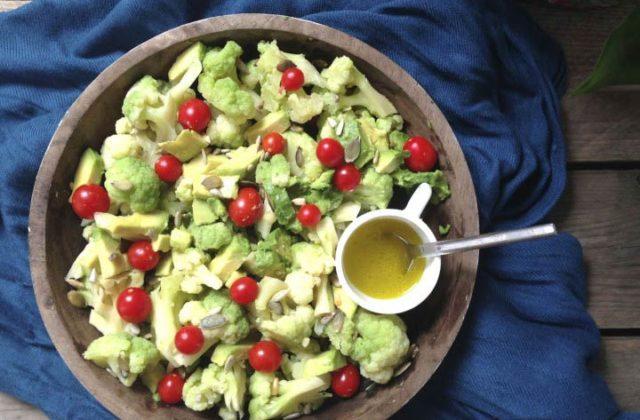 Receta detox: ensalada verde