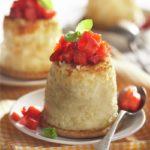 Postre saludable sin azúcar: pastelitos de queso