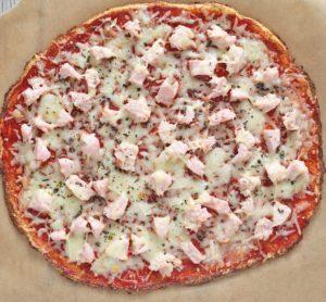 Receta saludable pizza