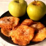 Buñuelos de Manzana saludable