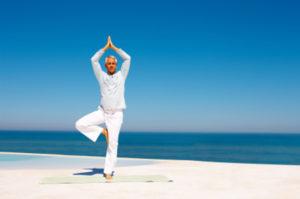 Perder peso practicando Yoga