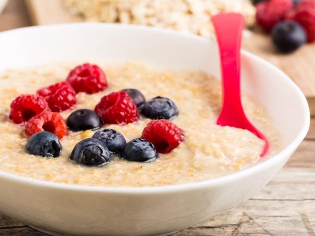Receta para un desayuno saludable