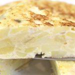 Tortilla de patatas para perder peso