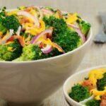 Cena ligera y sana ¡Ensalada de brócoli!