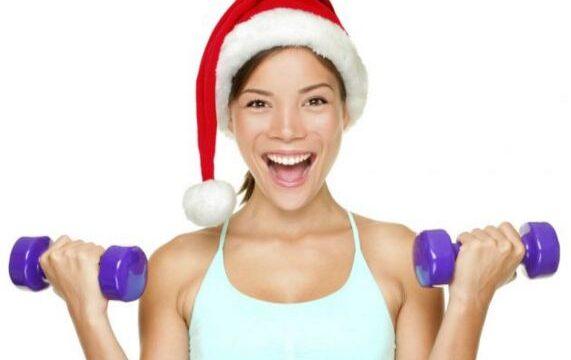 Rutina de ejercicios navideña ¡Entrena en casa!