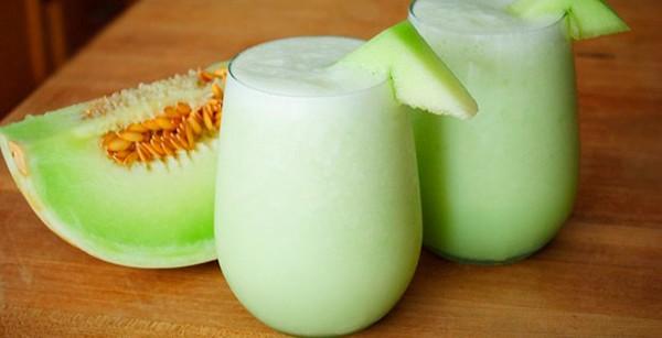Batido saludable de melón ¡Refréscate